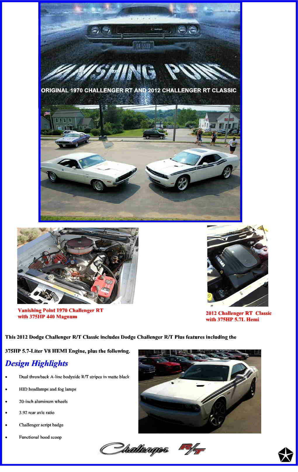 My 2012 Dodge Challenger R T Classic Wiring Harness Here Are Some Vintage Ads From The Early 1970s